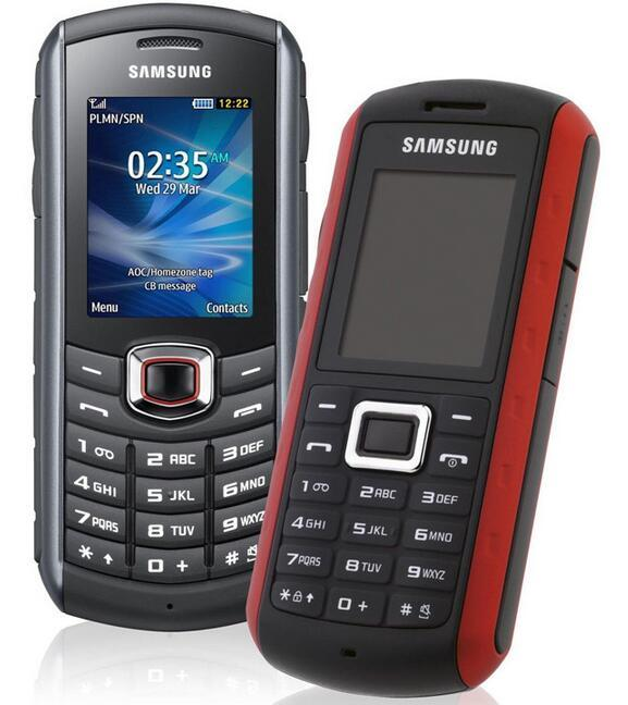 Refurbished Original Samsung B2710 Unlocked Cell Phone 2MP Camera 2.0 Inch 1300mAh GPS 3G MP3 Player Waterproof