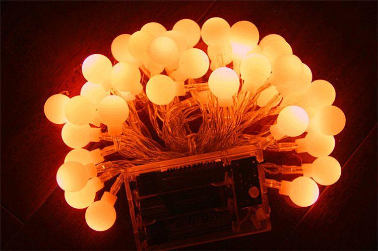 LED Warm White String Fairy Wedding Light Lamp Xmas Party Wedding Decor Twinkle Light Battery Light Led Outdoor Llighting LED Ceiling Light