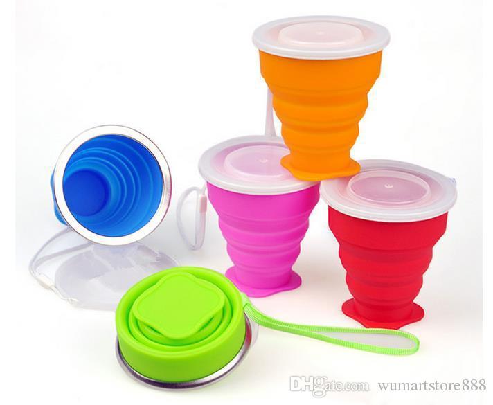 Radsport Trinkflaschen & -halter Wasserbecher Sport Klettern laufen Wandern Tasse Soft Water Cup Hohe Qualität