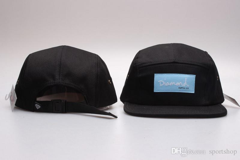 ae241f8c8e86a Diamond 5 painel Snapback tampas de qualidade superior chapéus ajustáveis  freeshipping chapéus de beisebol ajustável