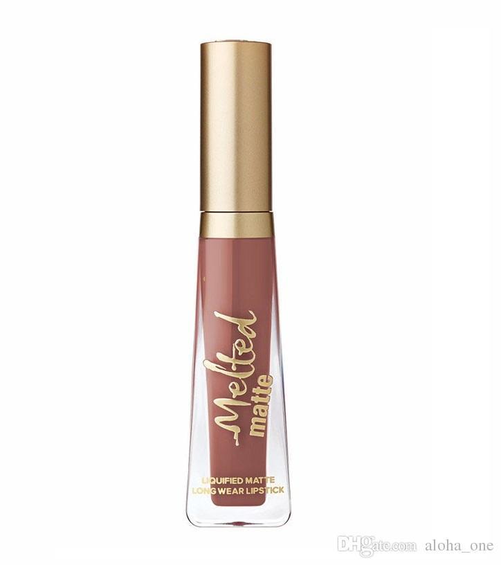 HEISSE Kosmetik schmolz Mattlippenstift-Lipgloss 12 Farben DHL-Versand