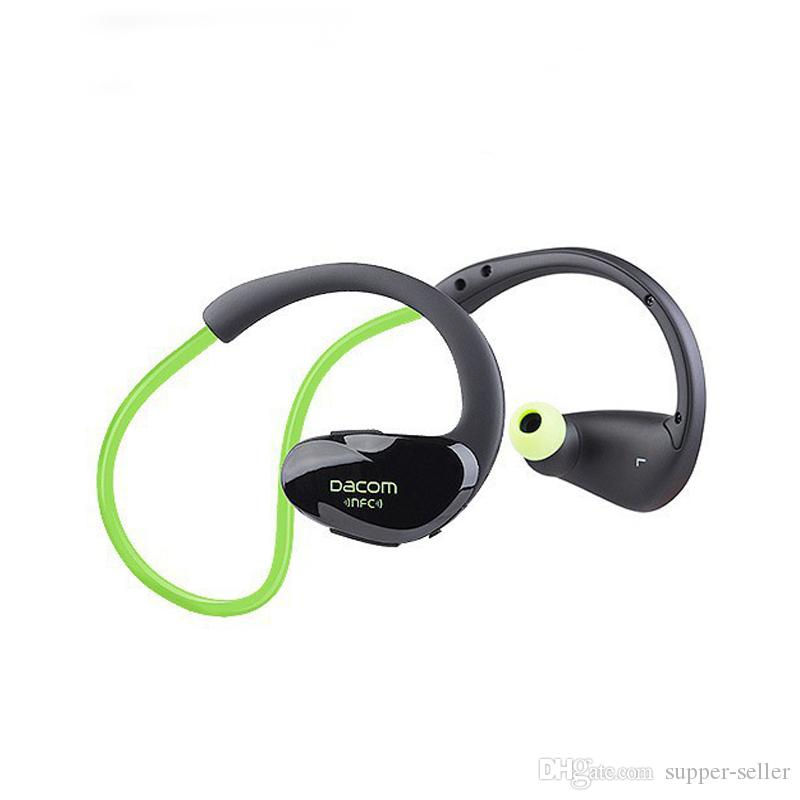 G05 NFC Cordless Ear Hook Sport Bluetooth 4.1 earpiece Sweatproof Mini Wireless Hifi Bass Headphones With Microphone Free DHL