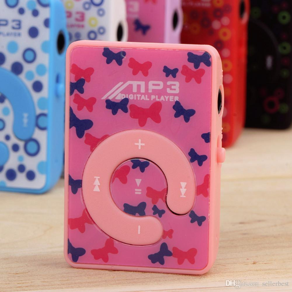 Quality Print Mini Clip MP3 Music Player with Micro TF/SD card Slot, ONLY MP3 Player, NO USB, NO headphone