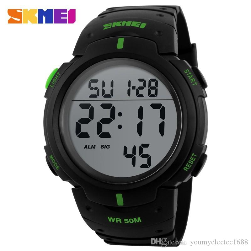 Watches Reliable Sports Watches Men Military Outdoor Watch Fashion Wristwatches Dive Mens Sport Led Digital Watches Waterproof Relogio Masculino Attractive Designs;