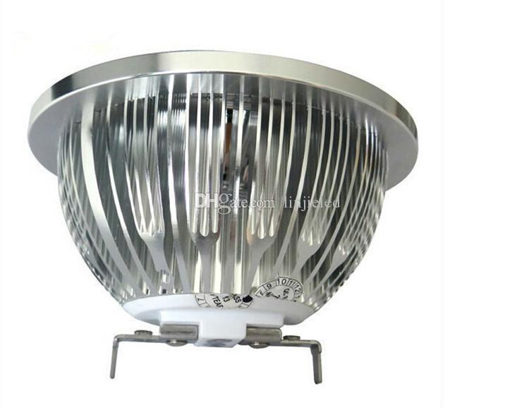 LED COB Spotlight AR111 15W Dimmable COB ES111 QR111 GU10 G53 110V 120V 220V 230V 240V Equal 120W Halogen Lamp 2800-7000K
