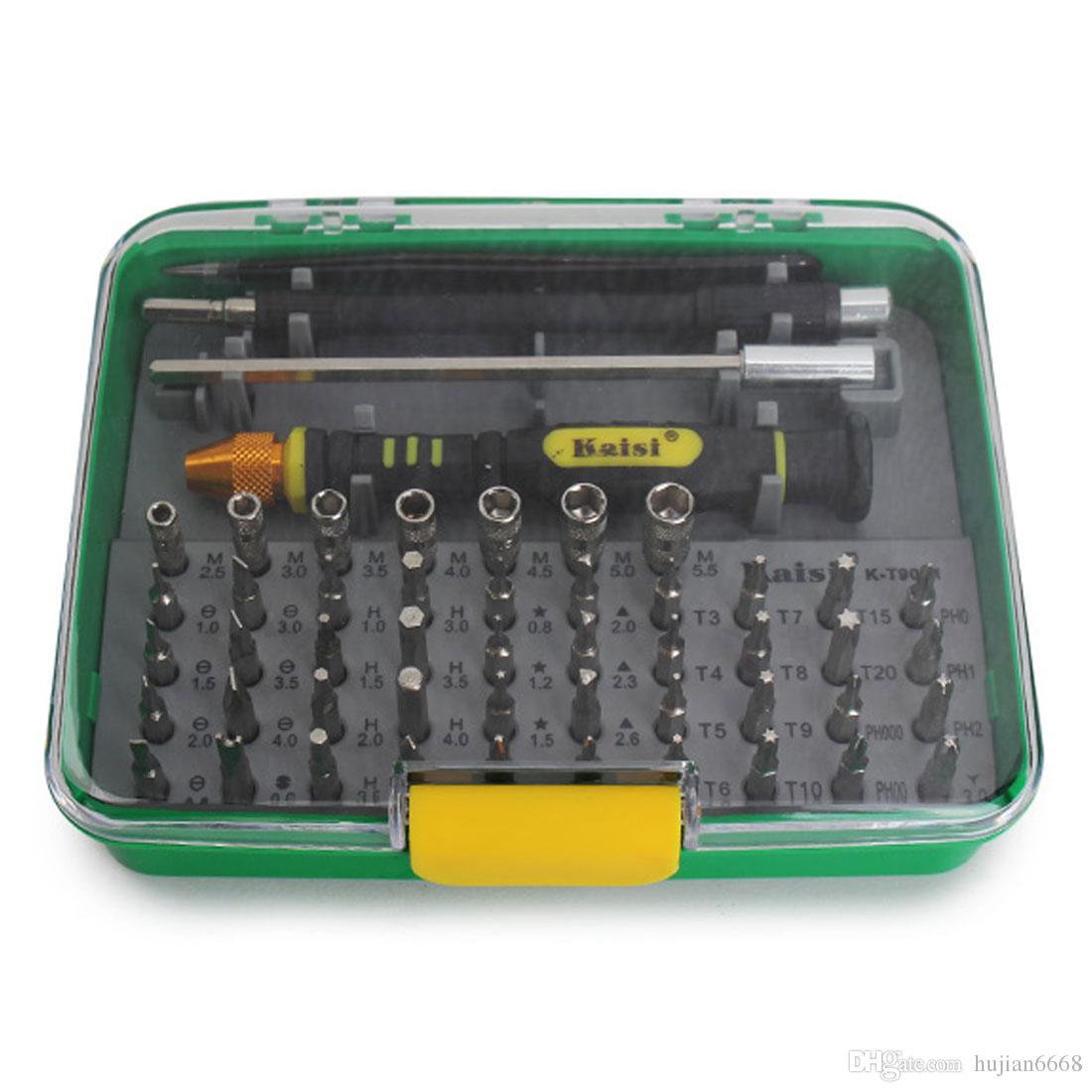 Kaisi 51-in-1 Öffnungs-Werkzeug-Kit Versatile Schraubenzieher-Reparatur-Set für Geräte Handy Home
