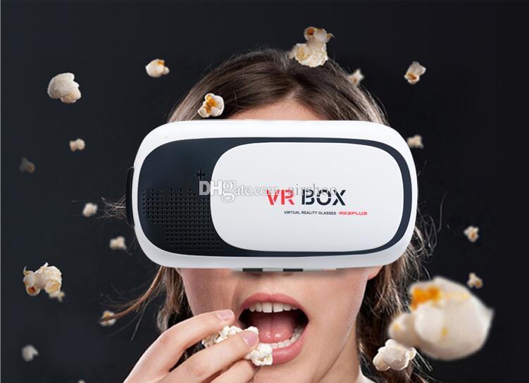 MOQVR BOX 5 Couleurs 3D Smart VirtualReality Lunettes pour 3D Jeu Film pour 3.5-6.0
