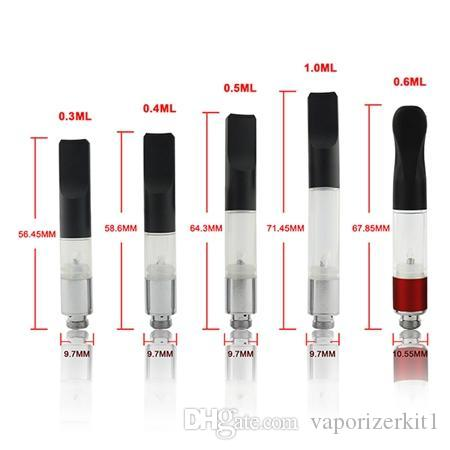 Newset thick oil Bud touch vaporizer e cigarette vape pens 510 tank ce3 atomizer bud clearomizer thick waxy oil atomizer cartridge 1ml