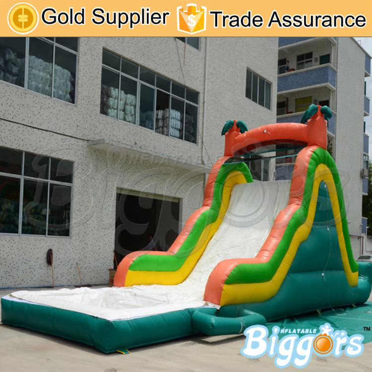 Hot Popular Bounce Castle Inflatable Jumping Water Slide With Pool