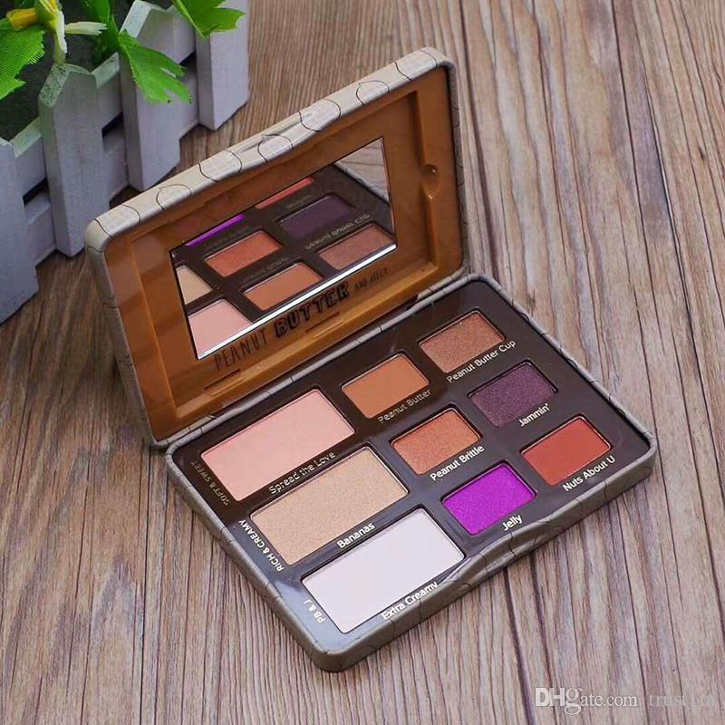 New Makeup Faced Peanut Butter & Jelly Palette Eye Shadow Palette eyeshadow palette DHL