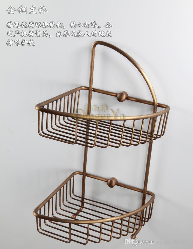 2018 !antique Bronze Color Brass Bathroom Shelves,Orb Finish From ...