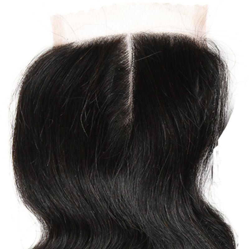 Kapatma Ile 7A Brezilyalı Vücut Dalga 3 Demetleri Ile Kapatma İnsan Saç Atkı Kapatma Işlenmemiş Brezilyalı Bakire Saç Kapatma Ile