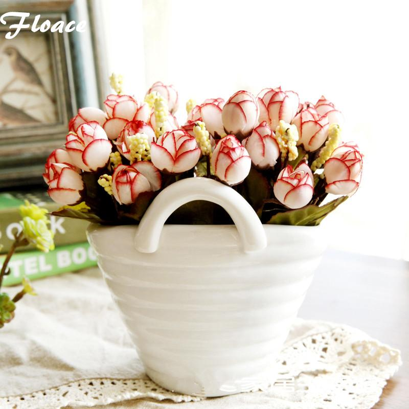 2018 floace white porcelain vase artificial flowers set qq rose 2018 floace white porcelain vase artificial flowers set qq rose flower ceramic vase set christmas decoration from home1688 2393 dhgate mightylinksfo