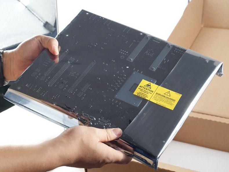 Anti Statique Protéger L'emballage Sacs Zipper Top étanche à l'humidité Self Package Package Sac De Rangement 2
