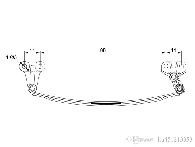 Rc car toys model 1:14 truck front suspension, Tamiya trailer front suspension, dumping suspension