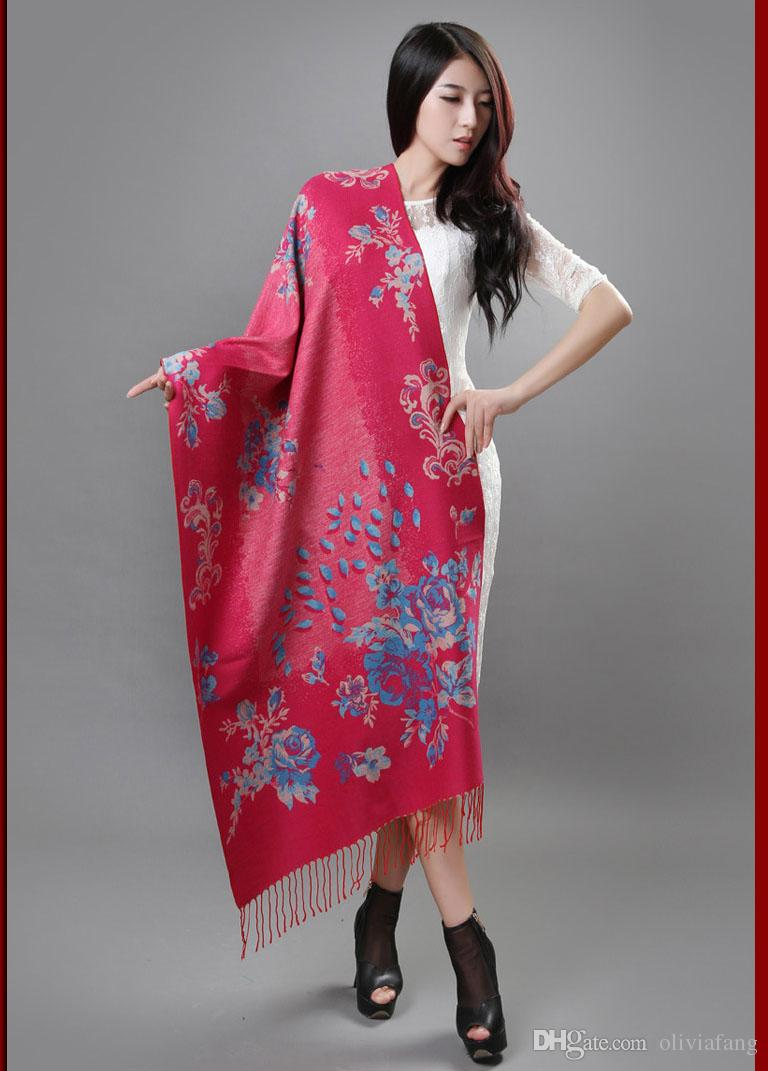 GIFT FOR MOTHER! Elegant Lady New Fashion Big Long Scarf Female Two-Side Printed Women Brand Wraps Hot Sale shawls and Scarves Muffler