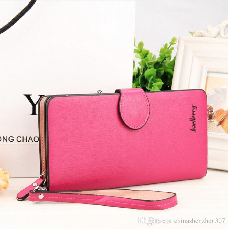 2016 Fashion New Pattern Multi Function Long Hasp Women Wallets Large Zipper Pocket 2 Fold Credit Card Holder Wallet