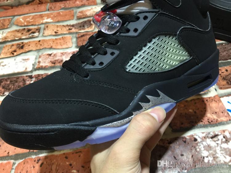 new cheap 5 OG Black Metallic new design wholesale V 5s boy basketball shoes online hot good quality
