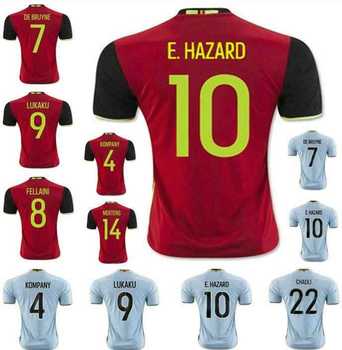 caf3d0d953e 2017 country national team soccer jerseys nfloutl soccer men short 2016  belgium soccer Top quality chandal futbol Belgium Home Soccer Jersey ...