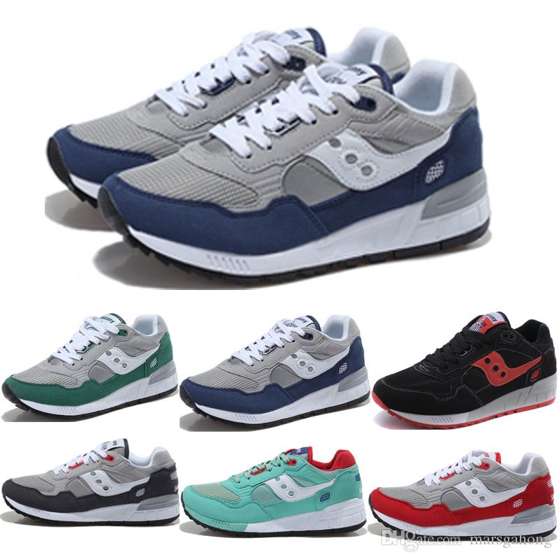829008fccbcc New Men S Saucony Shadow 5000 Retro Running Shoes Women Casual Walking  Outdoor Sports Shoes For Man Unisex Sneakers Shoes Boys Running Shoes  Barefoot ...