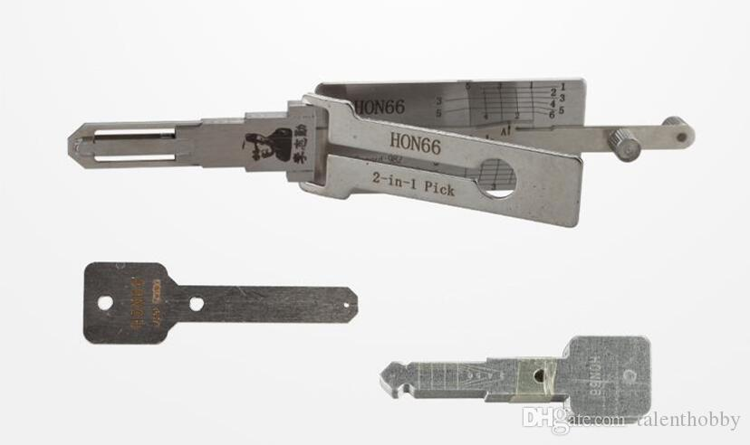 LISHI HON66 2-in-1 Auto Pick and Decoder For Honda locksmith lock pick tool auto pick