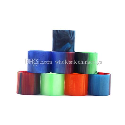 Straight Resin Glass Replacement Epoxy Expansion Tube Caps Tubes For TFV8 Baby vs TFV8 X-Baby TFV8 Big Baby Tfv12 Tank Drip Tip