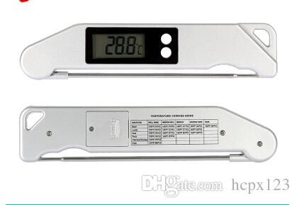 Termómetro de barbacoa TS-BN61 termómetro de barbacoa horquillas de barbacoa tenedor plegable Termómetro electrónico tenedor de carne Parrilla de barbacoa termómetro