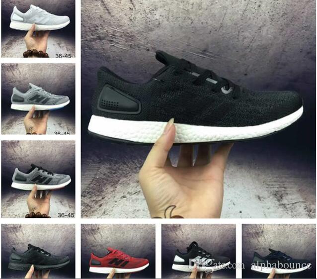 44da58103 2017 New All White Pure Boost 2.0 DPR Sneakers Men Footwear Triple ...