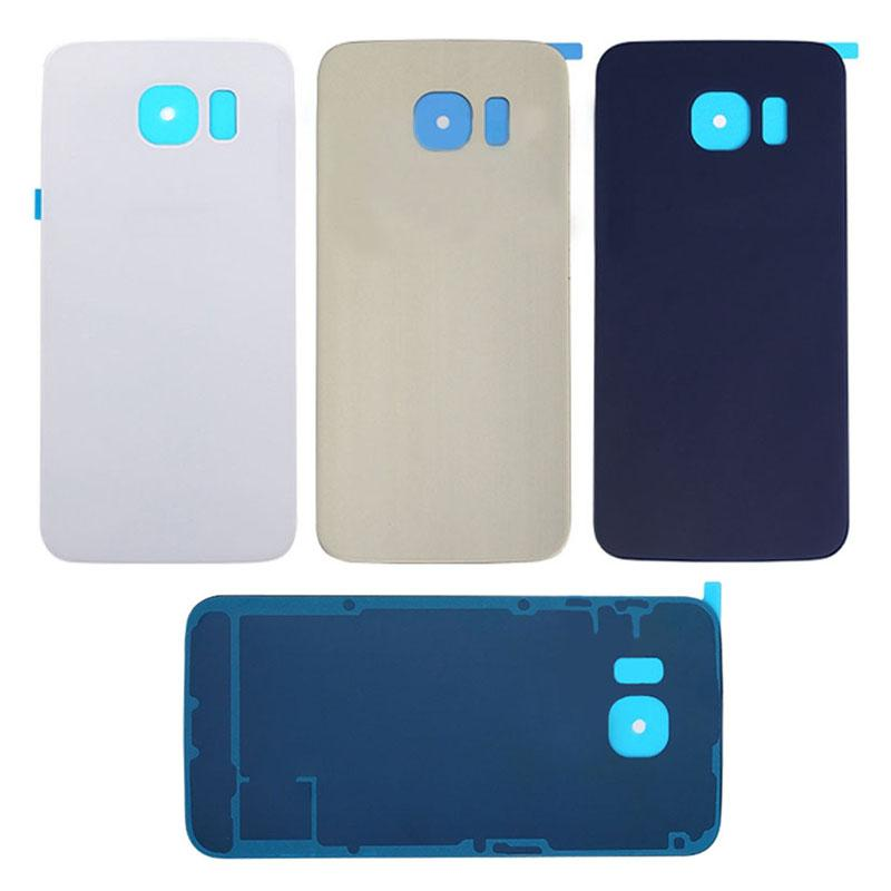 S6 Rear For Samsung Galaxy S6 G920 S6 Edge G925 S6 Edge Plus G928 Battery Back Cover Door Housing Case 50pcs Aaa Sticker