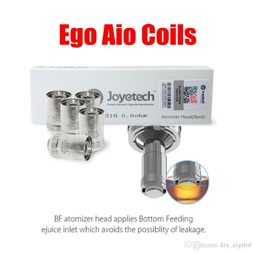 Joyetech Ego Aio Coils 100% Authentic Bf Ss316 Bf Rba Coil