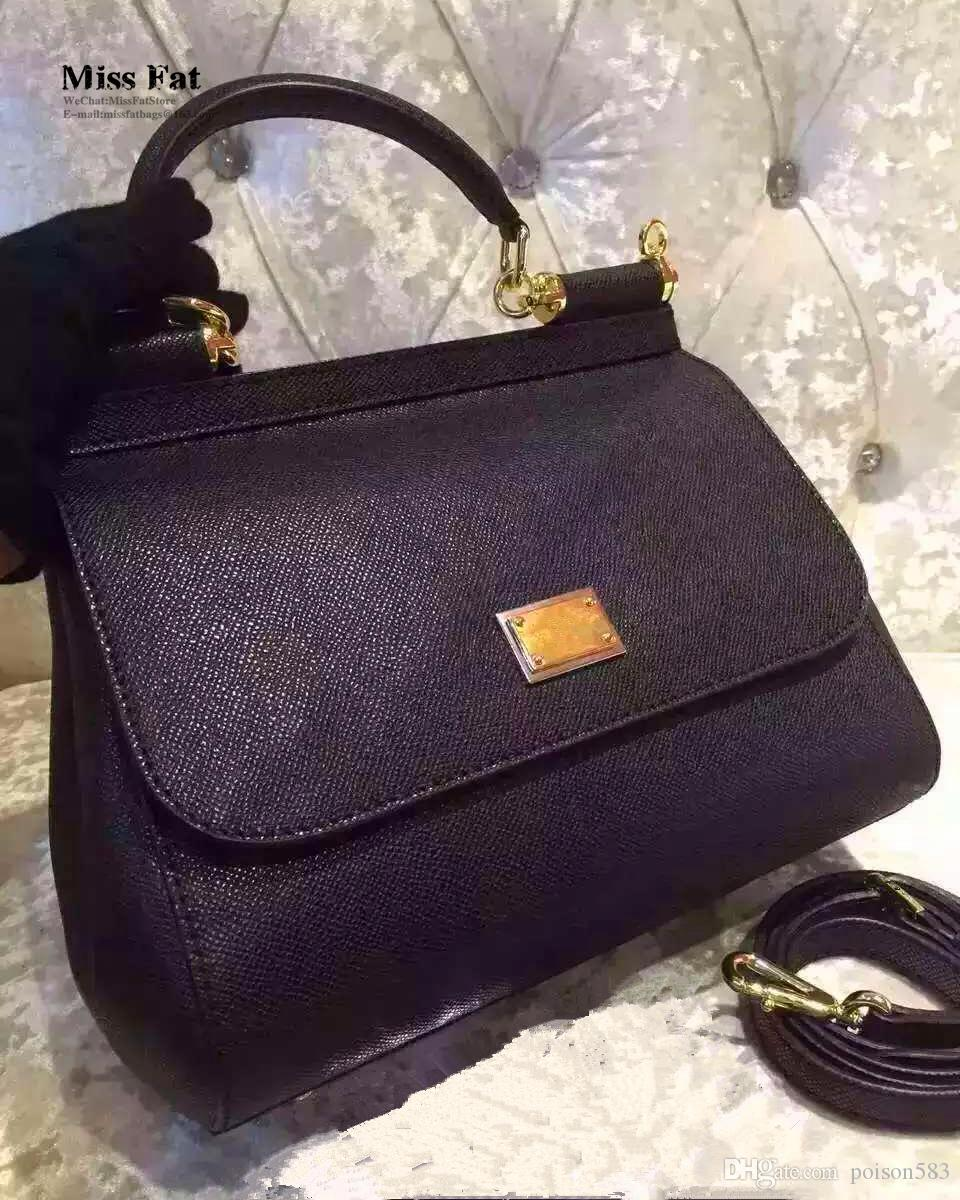 Italy Luxury Famous Brand D O G O 25cm Mini Bags Women Genuine Leather  Handbag Woman Original Quality Vintage Messenger Bag Missfat Satchel Handbags  Ladies ... e1b94feaab