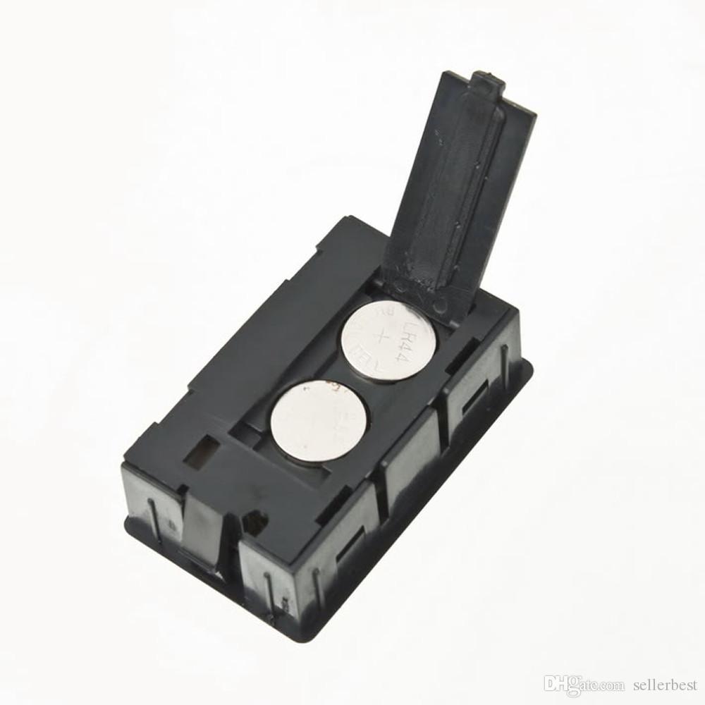 Mini misuratore di umidità della temperatura del congelatore del frigorifero dell'igrometro del termometro digitale LCD FY-11 Commercio all'ingrosso nero / bianco