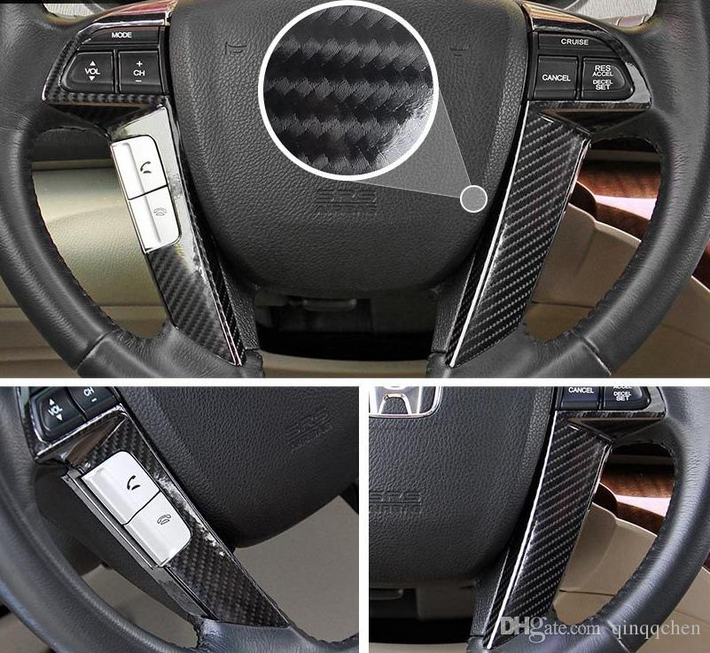 5D En Fiber De Carbone Vinyle Wrap Film Autocollant De Voiture Brillant Moto camion Heet Wrap Rouleau Étanche Auto Décoration Accessoires Noir 50 * 200 cm