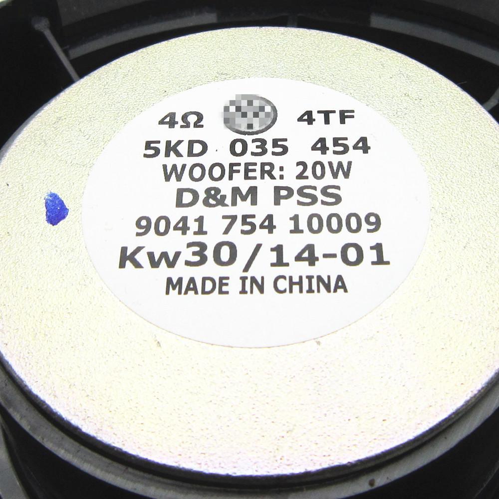 OEM Rear Woofer Sackbut Back Door Speaker for VW Golf 6 mk6 Jetta 5KD 035 454