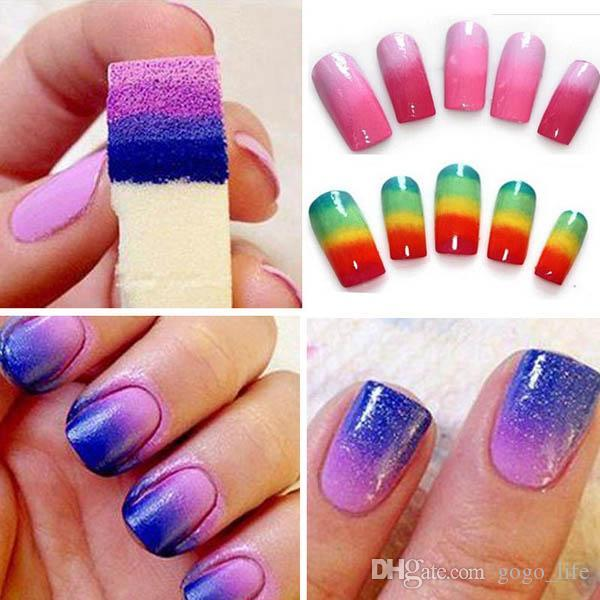 Sponge Nail Art High Quality Clip Art Vector