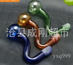 Fornecimento de panela de vidro colorido assado S