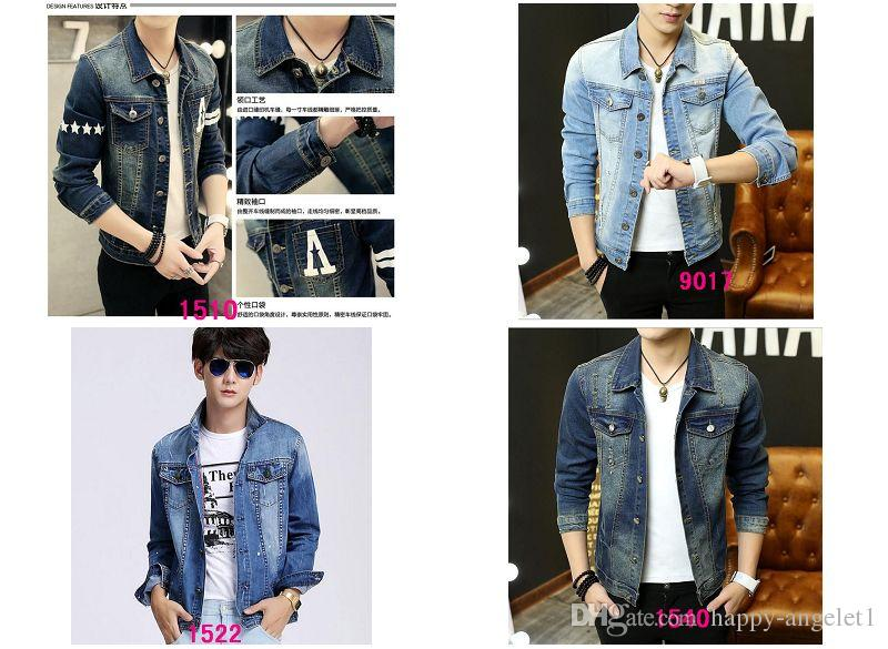 Holiday Sale New In The Spring Men S Slim Denim Jacket Denim Jacket