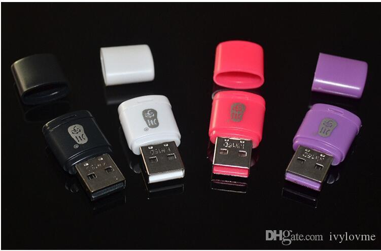 C286 USB 2.0 micro SD card reader maximum support 128GB High Quality mini card reader