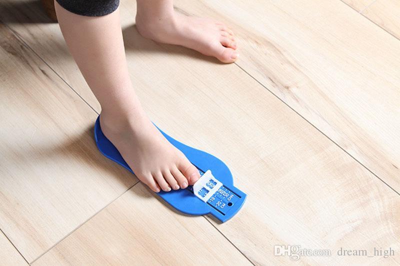 0-20 cm Enfants Infantile Bébé Pied Règle Chaussures Taille Mesure Règle Gauge Outil Enfants Chaussure En Bas Âge Infant Chaussures Chaussures Garnitures Gauge