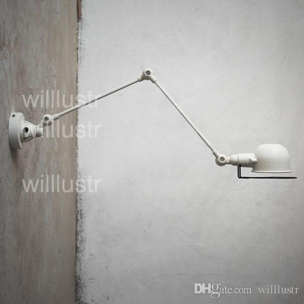 Willlustr مصباح الجدار Jielde الذراع الطويلة RH علوي الميكانيكية الجدار الخفيفة الحديثة تصميم الجدار الإضاءة دراسة غرفة المعيشة