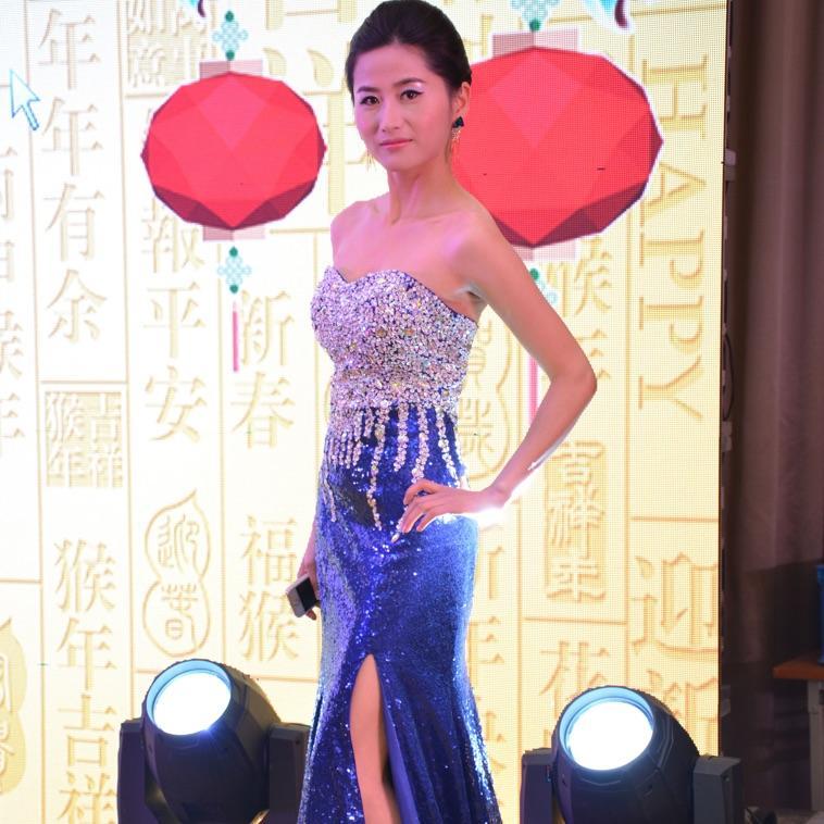Sexy Querida Lantejoulas Sereia Vestido De Baile De Formatura Com Contas De Cristal 2016 Dividir Prom Vestidos Custom Made