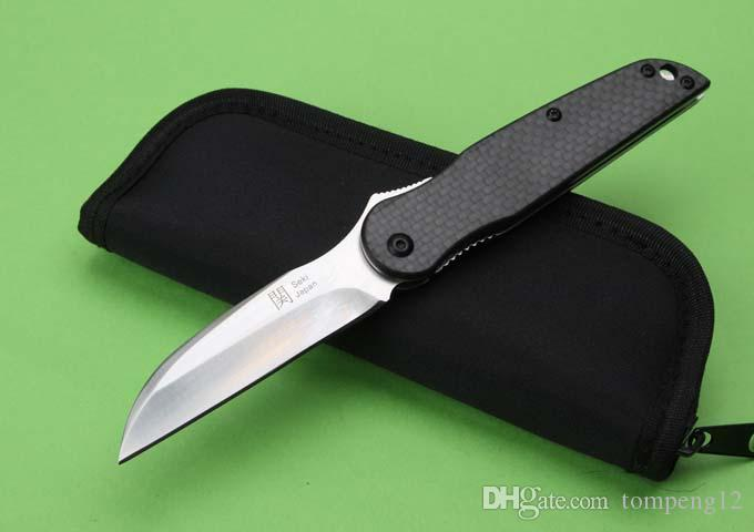 Newer recommended HIGONOKAMI 58-60HRC 2 modles folding knife camping hunting knife folding knife