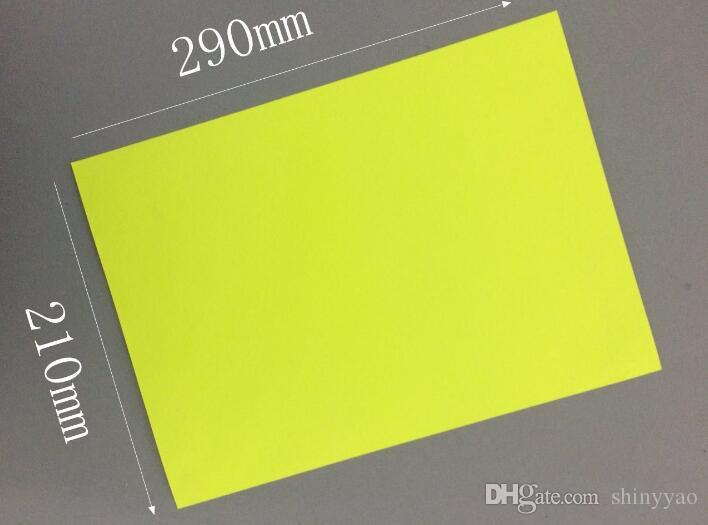 "21x29cm 8.3""x11.4"" Aful Kraft Paper Self Adhesive Print Paper Gift Craft Shipping Packaging Label Party"