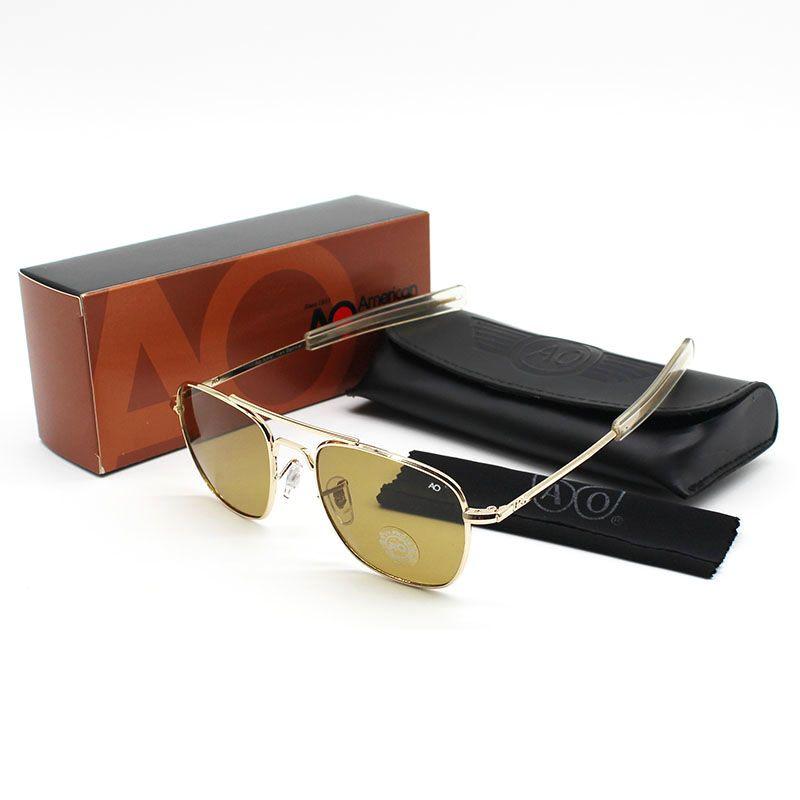 Wholesale Fashion Brands USA Flight AO 8054 Sunglasses Metal Frame Glass  Lens Men Women Sun Glasses Pakistan Special Spitfire Sunglasses Native  Sunglasses ... 61f091529c7