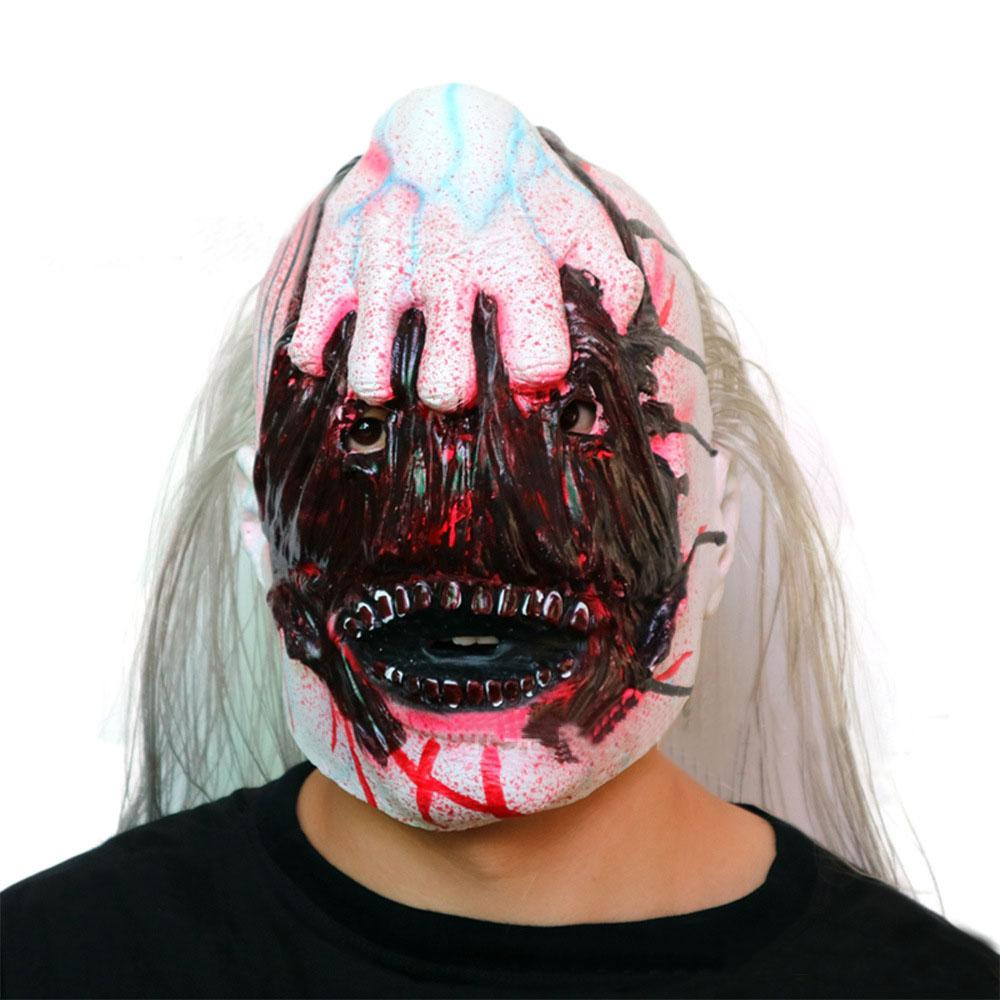 Wholesale New Arrival Variat Vampire Mask Horror Latex Full Head Devil Catch Ghost Mask Scary Blood Face Zombie Halloween Mask Party Prop
