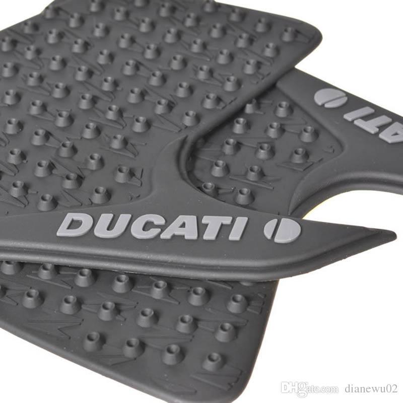 para Ducati Monster 696 795 796 1100 1100S Cojines de tracción del tanque de la motocicleta Protectores de agarre laterales de rodilla para gas