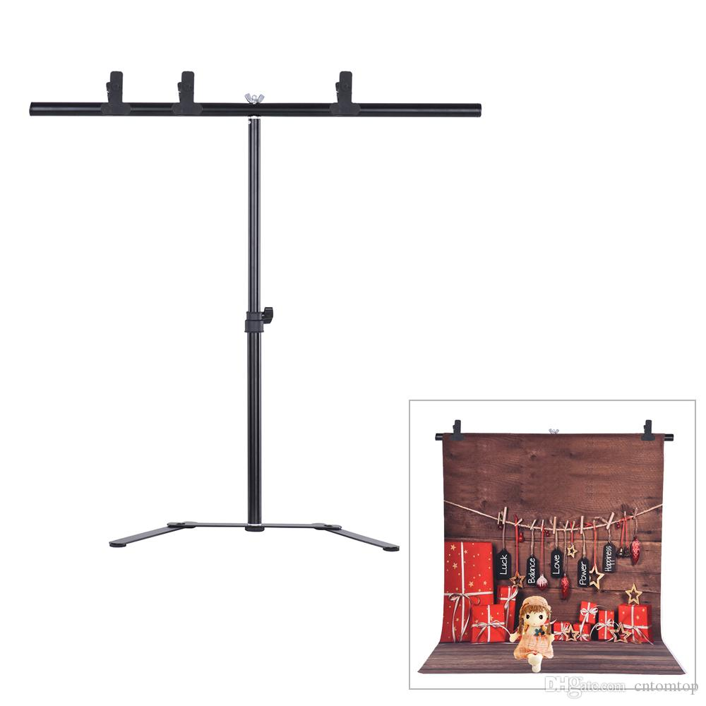 photography studio video pvc backdrop background support stand kit with 70cm276inch crossbar u0026 3 clamps d4358 from cntomtop dhgatecom