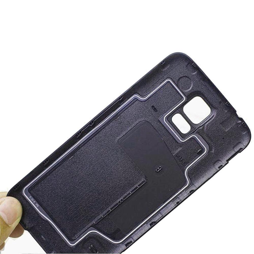 New Back Cover Battery Housing Door For Samsung Galaxy S5 SV I9600 with Waterproof Rubber Ring