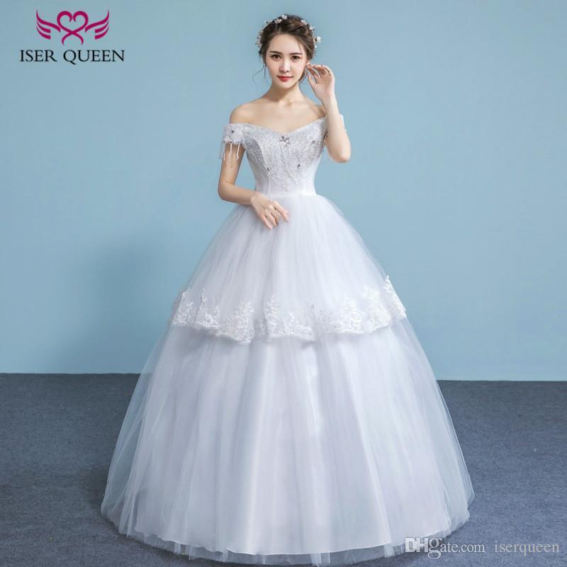 Iser Queen Cake Shape Princess Wedding Dress Tiered Skirts Short Cap ...