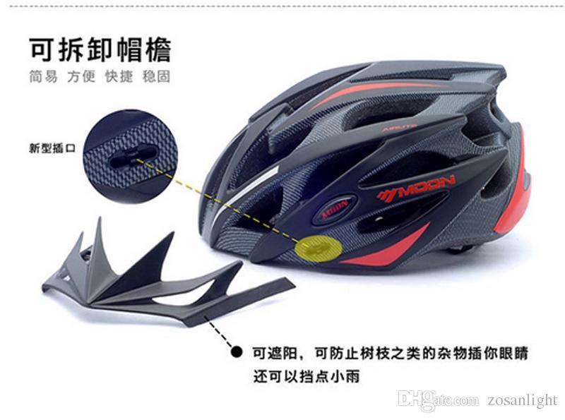 Bike Helmet Moon octal raceday Cycling Helmet Casco Ciclismo Capacete Cascos para Bicicleta For Woman Men Size L M Bicycle helmet